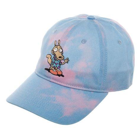 f3b6b3603f7 Rocko s Modern Life Hat - Tie Dye Hat w  Rocko s Modern life Embroidery Sky  Blue Dad Hat Gift for Men - JAKKOUTTHEBXX - JAKKOU††HEBXX