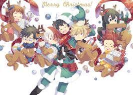 Boku No Hero Academia Christmas Hero Anime Christmas My Hero