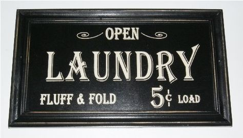 Pin By Ellen Molinaro On Basement Design Vintage Laundry Farmhouse Laundry Room Laundry Signs
