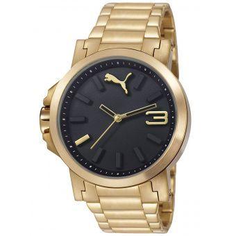 reloj puma hombre oro