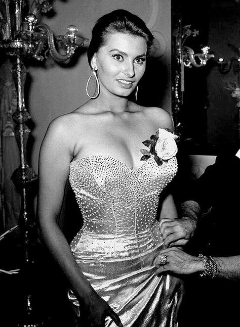 """Everything you see here, I owe to spaghetti.""  Sofia Loren"