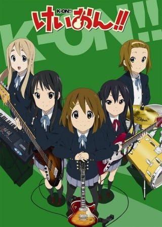 انمي كي اون الموسم الثاني K On مترجم انميات الربيع ربيع 2010 شريحة من الحياة قائمة الانمي كوميدي مدرسي موسيقي Anime Anime Characters Animation