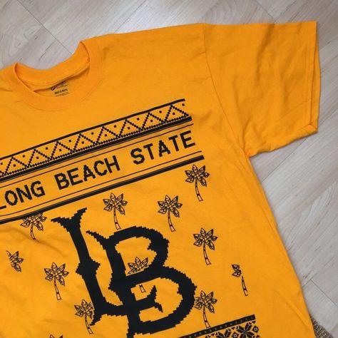 Long Beach State College T Shirt Long Beach State College T Shirt