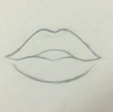 67 Ideas Drawing Lips Simple Art Drawings Simple Art Drawings Sketches Pencil Art Drawings