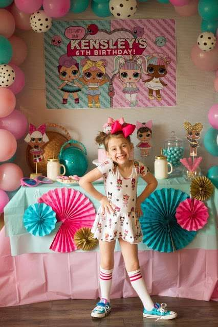 L.O.L Surprise Doll Birthday Party Ideas | Photo 1 of 24 | Catch My Party | Party Decor
