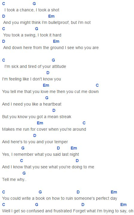 It Might Be You Lyrics And Chords
