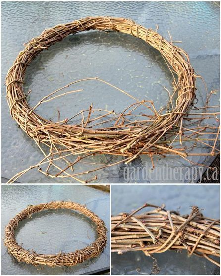 How-to make your own grapevine wreaths