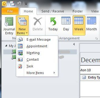 Track Emails Phone Calls And Tasks With Outlook Journal Task Outlook Cool Journals