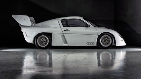 Audi mid engined quattro prototype for 1988 Group S category  #Audi #AudiQuattro #CarDesign #WRC #Rally #RacingCars #Motorsport #ConceptCar #ConceptCars #CarDesigners #AudoDesign #Carbodydesign