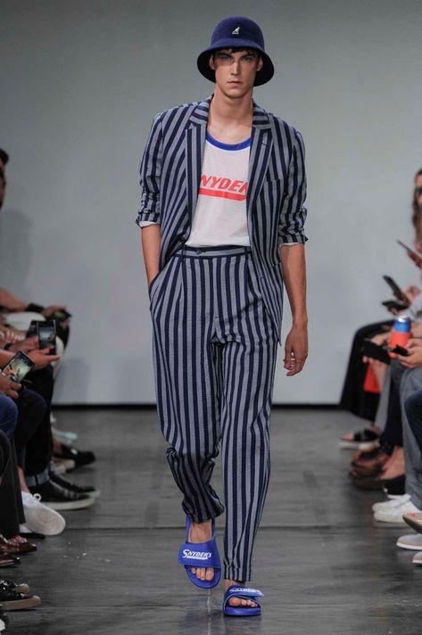Male Fashion Trends: Todd Snyder Spring-Summer 2019 - New York Fashion Week Men's