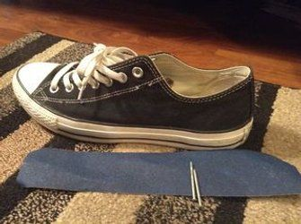 How to Make Converse All Stars Look Old and Faded : 6 Steps