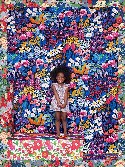 Introducing Liberty London for Uniqlo, a collection of womenswear and childrenswear featuring Classic Liberty prints.