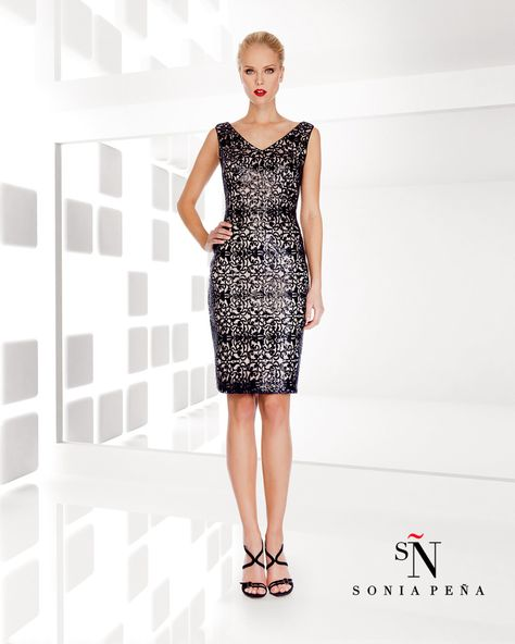 Sonia Pena - Dress & Jacket - 1200048 — Mother of the