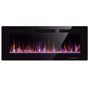 Incredible Xbeauty 50 Inches Multicolor Flames Electric Fireplace Home Interior And Landscaping Oversignezvosmurscom