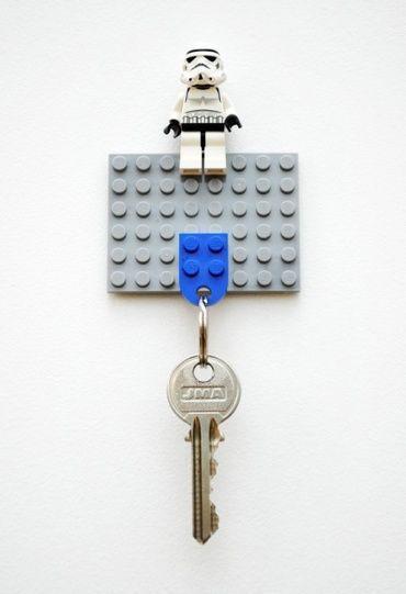 簡単可愛い レゴキーホルダーの作り方 カギ置き場の実例アイデア集