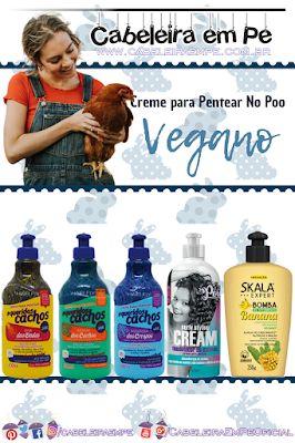 Cremes Para Pentear Liberados Para Low Poo E No Poo Hair Fly