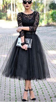 Little Black Dress   Evening Dress   Cocktail Dress  Wedding Guest Dress