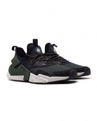 Nike Air Huarache Shoes Drift Black