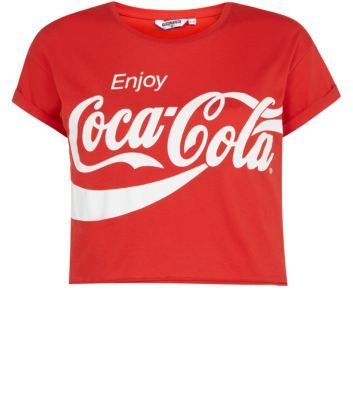 Teens Red Coca Cola T-Shirt. From New Look. Different version in primark