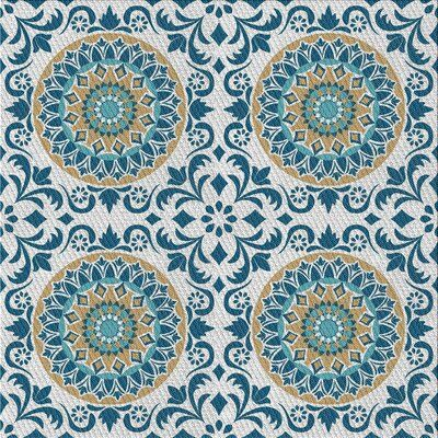World Menagerie Carsten Patterned Green Blue Area Rug Wayfair Ca In 2020 Unique Area Rugs Vintage Pattern Design Blue Area Rugs