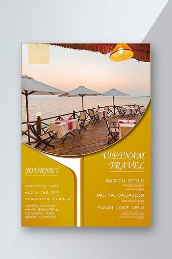 Vietnam Leisure Vacation Travel Flyer Vacation Trips Travel Vacation