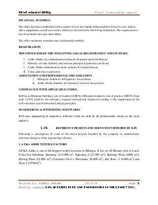 Internship Report On Building Construction Internship Building