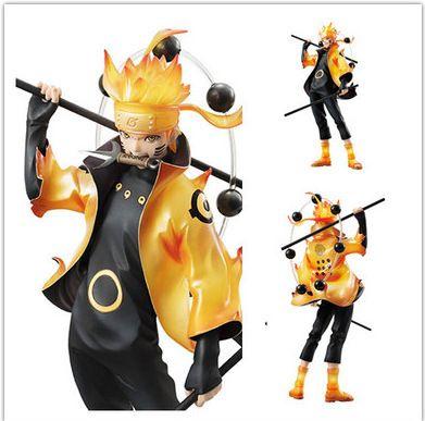 Naruto Action Figure Rikudousennin Modo Uzumaki Naruto Figure Toy