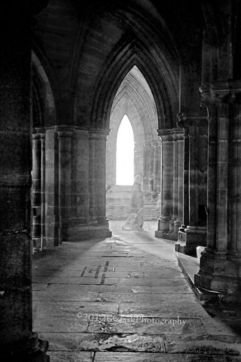 Items similar to Photography Black and White Glasgow Cathedral Ghostly Image Light Shadow Stone Spirit Holy Scotland Home Decor on Etsy Scary Ghost Pictures, Ghost Images, Ghost Photos, Light And Shadow Photography, Dark Photography, Spirit Photography, Black And White Picture Wall, Black N White Images, Glasgow Cathedral