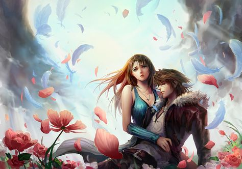 Linoa & Squall // Final Fantasy VIII