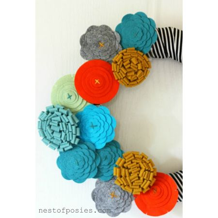 Quick and Easy Holiday Felt DIY Projects - The Cottage Market