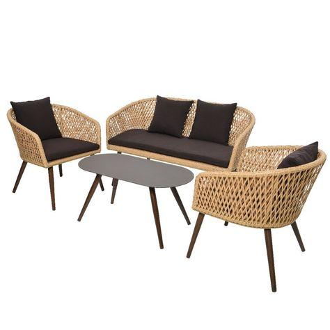 Meubles De Jardin Design De Esther Bolentin Du Tableau Mobilier Modulable En 2020 Salon De Jardin Fauteuil Bas
