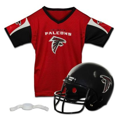 finest selection 40afe 766bc NFL Atlanta Falcons Kids Helmet/Jersey Set Multi | Products ...