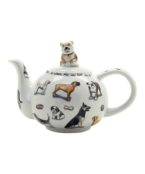 Mini Teapot /& Lid Man/'s Best Friend by CARDEW DESIGN