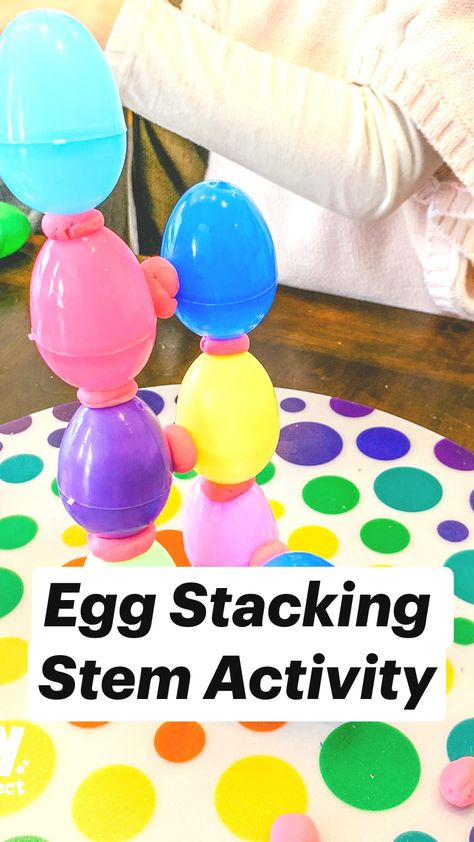 Egg Stacking Stem Activity
