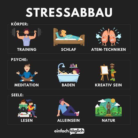 Was machst du am liebsten um Stress abzubauen?   Erfolg, Ziele, Gewohnheiten, Stress, Lebensweisheiten, Sprüche, Zitate, Selbstliebe, Gedanken, nachdenken