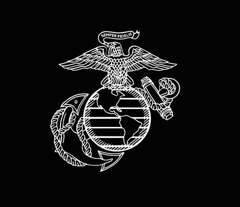 Excited to share this item from my #etsy shop: Military US Marine Corps Vinyl Decal usmc car truck usmc window custom sticker United States Marines Semper Fi
