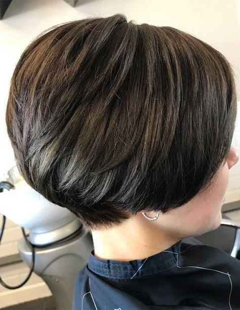 layered haircuts for thin hair, short bob haircuts, short bob hairstyle, bob haircut with inverted back, short layered haircuts, shoulder length layered haircuts, layered hairstyles