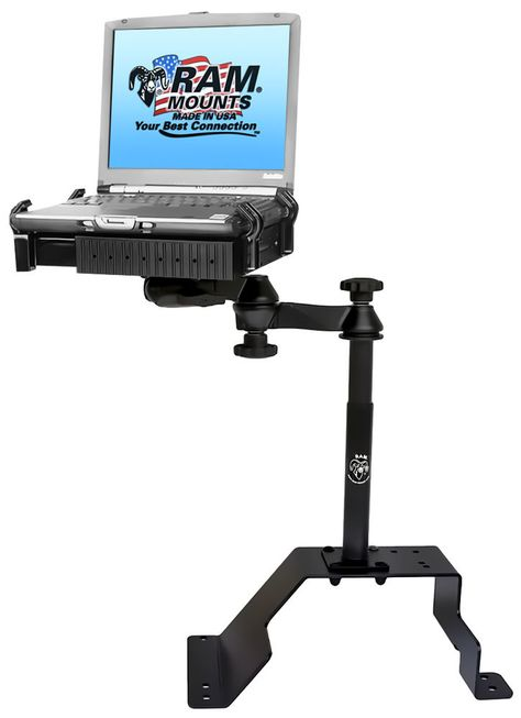 F-550+ F-450 F-350 RAM-VB-185-SW1 No-Drill Laptop Mount for the Ford F-250
