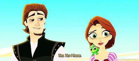 Have you ever seen anything so beautiful? (God I LOVE Rapunzel & Eugene!)
