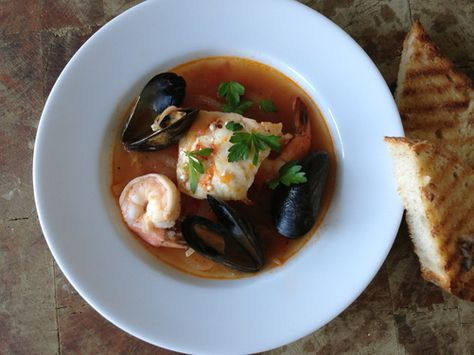 Spicy Seafood & Fennel Soup, a recipe on Food52