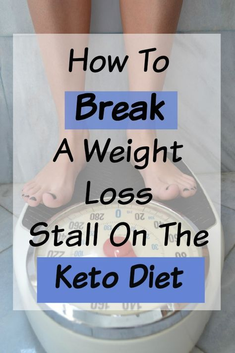 Weight loss stalled low carb diet