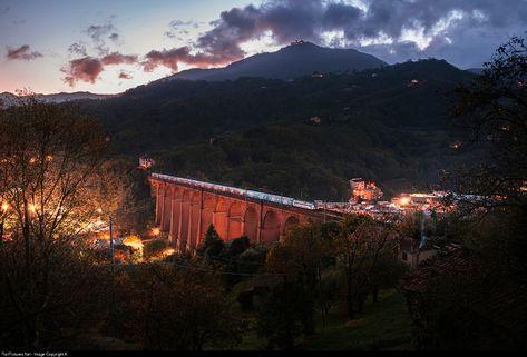RailPictures.Net Photo: ---- Trenitalia E402B at Genova, Italy by Károly Szélig