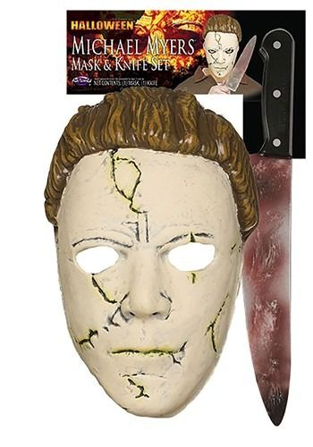 Halloween Rob Zombie Michael Myers Mask Vs Halloween 2020 Michael Myers Mask Halloween (Rob Zombie) Michael Myers Resilient Mask & Knife in