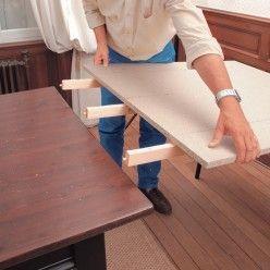 fabriquer une rallonge de table