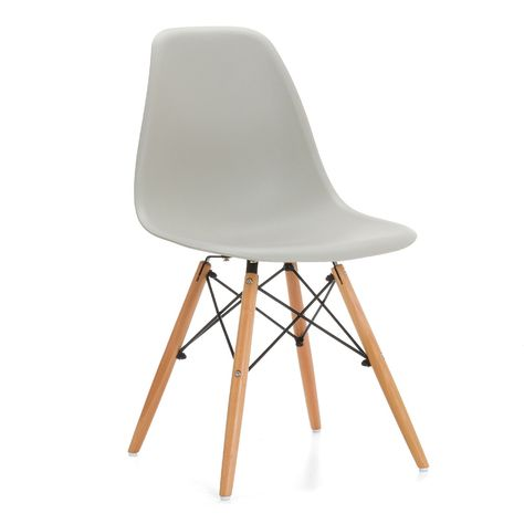 Silla Dsw Eames Chaise Eames Dsw Chaises Eames Chaise Wooden