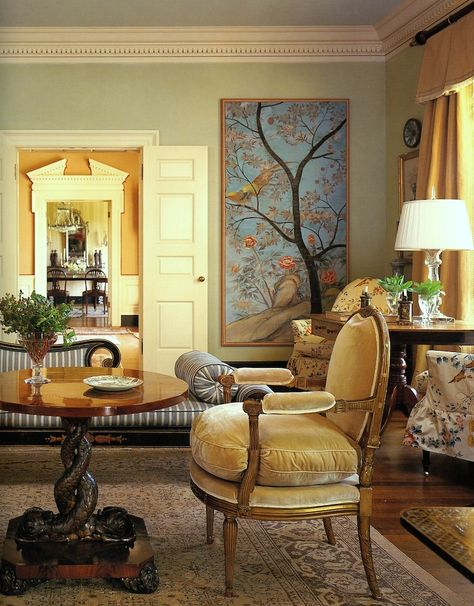 part III of the Top Twenty Interior Designers I Would Hire - laurel home   fabulous living room by Suzanne Rheinstein