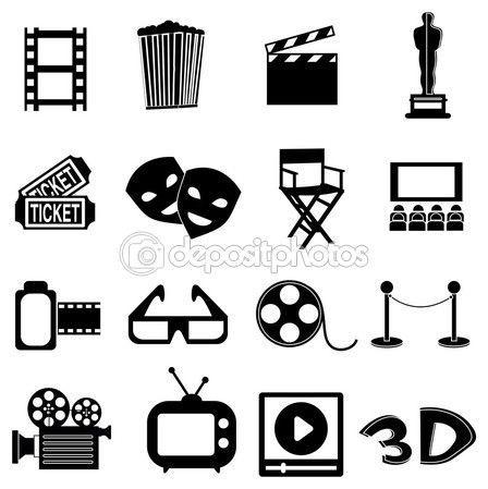 Desenho Claquete Pesquisa Google Festa De Cinema