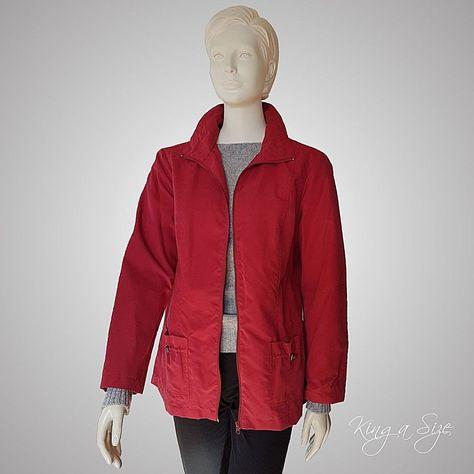 Rote Damen Jacke gr 42