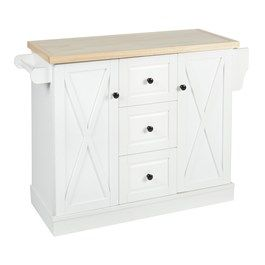 3 Drawer 2 Barn Door Rolling Kitchen Island View 1 Dining Room Furniture Christmas Tree Shop Kitchen Roll