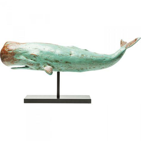 Deko Figur Whale Base Kare Design Arte